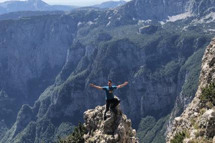 Profesor koji je napravio pravi podvig: Marin se popeo na 78 vrhova u BiH (FOTO)