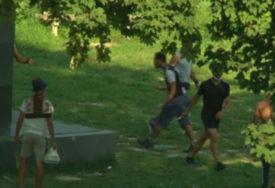 KRVAVI OBRAČUN MIGRANATA U TUZLI Sijevali noževi, dvije osobe povrijeđene (VIDEO)