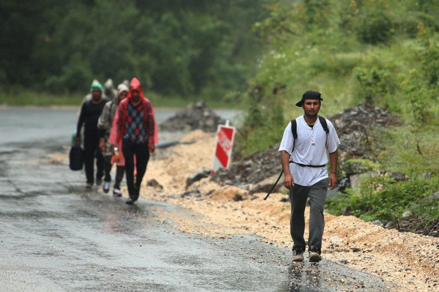 PRITISAK MIGRANATA NA GRANICE NE JENJAVA BiH bi se uskoro mogla suočiti sa dubljom migrantskom krizom