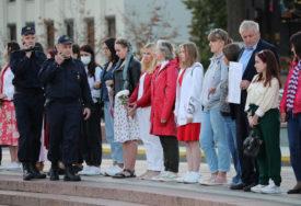 STOTINE LJUDI NA CENTRALNOM TRGU Najmanje deset demonstranata uhapšeno u Minsku