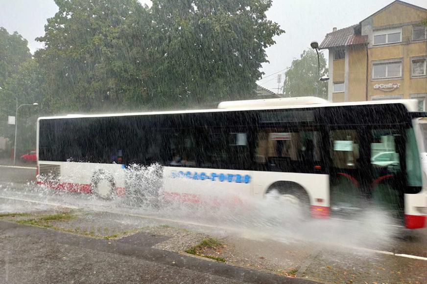 VODA OPET NAPRAVILA HAOS Na Banjaluku se sručilo najviše padavina u cijeloj Srpskoj (FOTO, VIDEO)