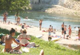 PRAVI LJETNI DAN Danas u BiH sunčano, dnevna temperatura do 33 stepena