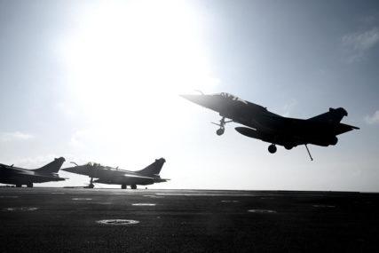 RASTU TENZIJE U SREDOZEMNOM MORU Francuska šalje borbene avione i fragatu