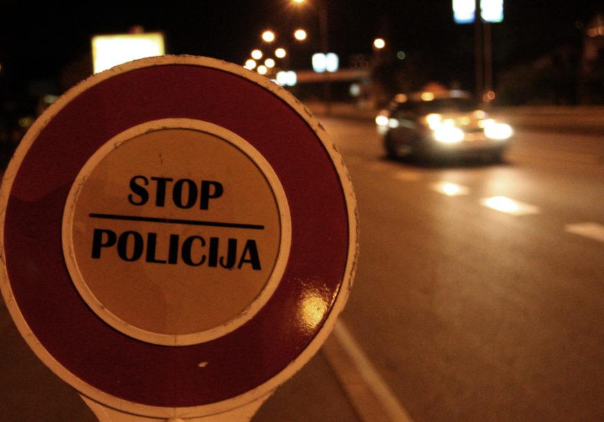 Uhapšen bahati vozač: Vozio 185 kilometara na čas