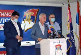 KONAČAN STAV U NAREDNIM DANIMA Šarović: SDS će kandidovati 25 ljudi za načelnike