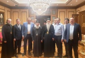 ČESTITKE STIGLE I IZ MOSKVE Dodik na svečanoj večeri povodom 90. rođendana srpskog patrijarha Irineja