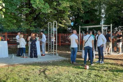 NOVO MJESTO ZA REKREATIVCE I ĐAKE Nova Varoš dobila teretanu na otvorenom