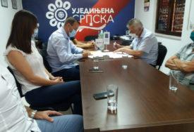 Ujedinjena Srpska i Partija ujedinjenih penzionera POTPISALE KOALICIONI SPORAZUM u Trebinju