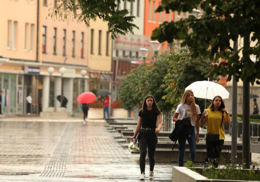 KIŠA, PLJUSKOVI I GRMLJAVINA Sutra u BiH prohladno vrijeme sa dnevnom temperaturom do 18 stepeni