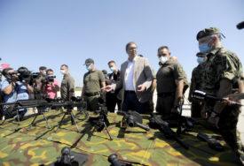 DEMONSTRACIJA SPOSOBNOSTI Vučić: Srbija je ponosna na svoju vojsku, ovo je NAŠA PAMET