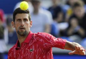 ĐOKOVIĆ SE POVUKAO Srpski teniser ne igra zbog bola u vratu