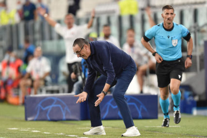 KOBNO ISPADANJE Juventus smijenio Sarija