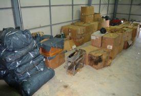 PRETRES U ŠAMCU Od tri osobe oduzeto više od šest tona duvana