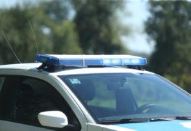 """IZGORIO """"AUDI"""" Policija obavila uviđaj i pokrenula istragu"""