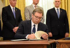 NAPRAVLJEN PROSTOR ZA INVESTICIJE Vučić: Vašington poslije 30 godina otvorio vrata Srbiji