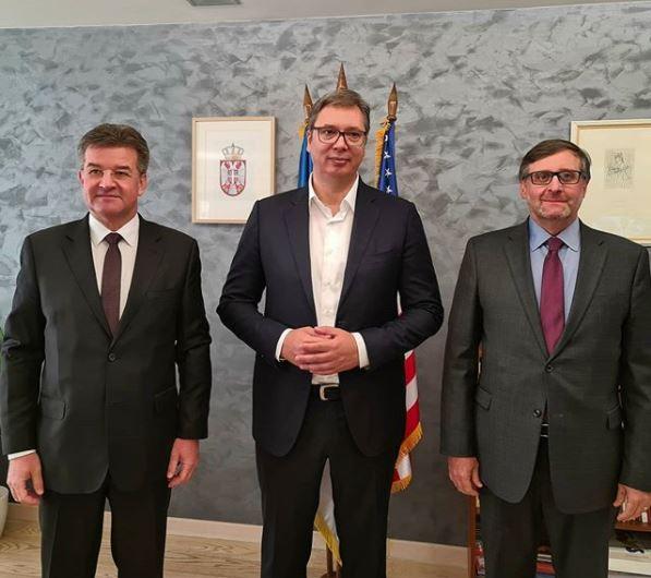 RAZGOVORI U BRISELU Vučić: EU želi ključnu ulogu u dijalogu Beograda i Prištine