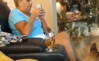 NASMIJAĆE VAS DO SUZA Baka slučajno pojela unukove kolače sa kanabisom (VIDEO)