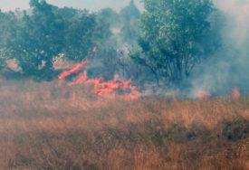 VATROGASCI ODBRANILI KUĆE Veliki požar kod Bileće