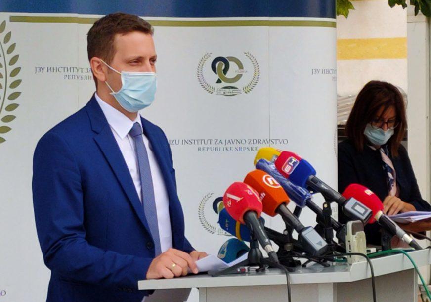 JEDNA OSOBA PREMINULA U protekla 24 sata 72 novozaraženih u Srpskoj