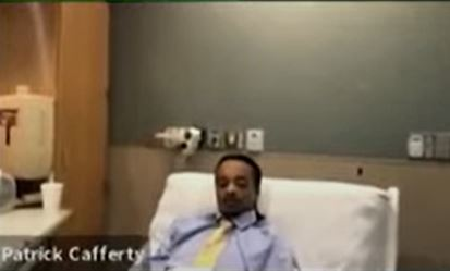 """""""NISAM KRIV"""" Prvo pojavljivanje Blejka u javnosti od pucnjave, iz bolnice se javi na video suđenju"""