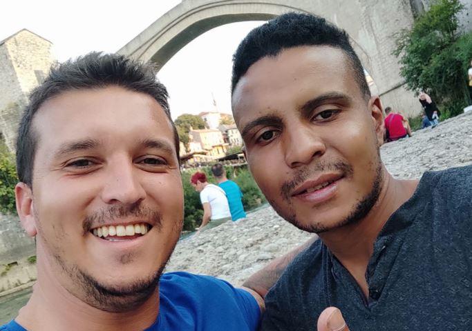 DRAMA ISPOD STAROG MOSTA Bivši fudbaler spasao migranta od utapanja u Neretvi
