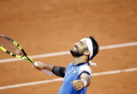 ZA ISTORIJU Italijan ostvario prvu ATP pobjedu u meču koji će se pamtiti
