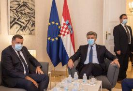 """""""U ZAGREBU SAM BORAVIO SASVIM LEGITIMNO"""" Dodik odgovorio na prozivke iz Sarajeva"""