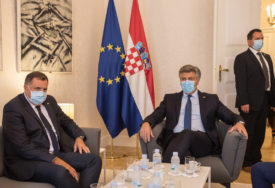 """MIR JEDINA OPCIJA"" Dodik iz Zagreba poručuje da je prioritet ekonomska saradnja"