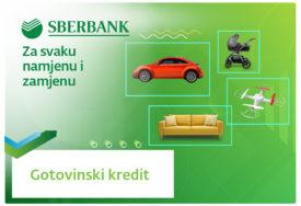 Uz Sberbank a.d. Banjaluka GOTOVINSKE KREDITE vaši planovi i želje nisu više nedostižni