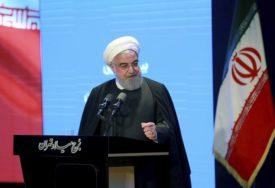 IRAN PRIJETI OZBILJNIM ODGOVOROM Rohani: Nećemo popustiti pod američkim pritiscima