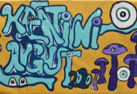 """KROZ KREATIVNI AVGUST """"ZDRAVO DA STE"""" Oslikani murali u parku Mladen Stojanović (FOTO)"""
