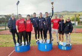 ODLIČAN REZULTAT Atletičari Borca drugi na juniorskom prvenstvu BiH
