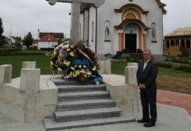 ODBRANOM ZAPADNE GRANICE ODBRANJENA JE I SRPSKA Karan se prisjetio stradalih vojnika i policajaca u Kozarskoj Dubici
