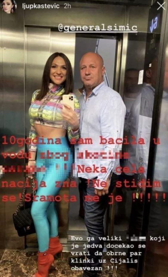FOTO: LJUPKA STEVIĆ/INSTAGRAM