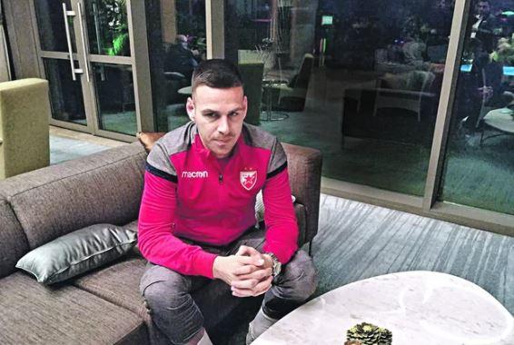KAŽNJEN GOBELJIĆ Fudbaler Zvezde suspendovan zbog skidanja šortsa