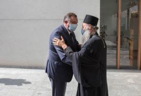 DODIK U POSJETI ZAGREBU Uručio 100.000 evra za obnovu Sabornog hrama oštećenog u zemljotresu