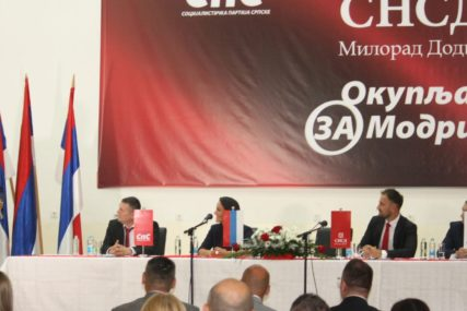 POTPISAN KOALICIONI SPORAZUM SNSD, DNS I SPS Mara Milošević kandidat za načelnika Modriče