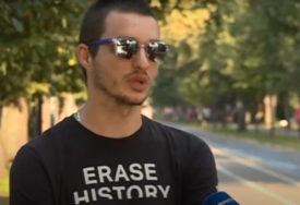 """""""BEZ OBZIRA NA SVE, VOLJA I TRUD DAJU RAZULTATE"""" Slijepi Mustafa (25) je svojim uspjesima sve oduševio (VIDEO)"""