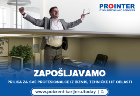 """PROINTER ZATRPAN BIOGRAFIJAMA Uz """"Pokreni karijeru"""" došli do posla"""