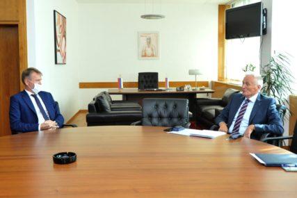 ODNOSI NORVEŠKE I BiH Špirić i Rajnertsen razgovarali o političkoj situaciji uoči lokalnih izbora