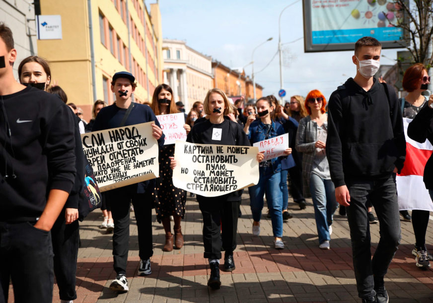 NEGIRA OPTUŽBE Uhapšeni bjeloruski opozicionar počeo ŠTRAJK GLAĐU