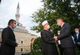 """""""DOBRI ODNOSI GRADA I ISLAMSKE ZAJEDNICE"""" Radojičić razgovarao sa Kavazovićem"""