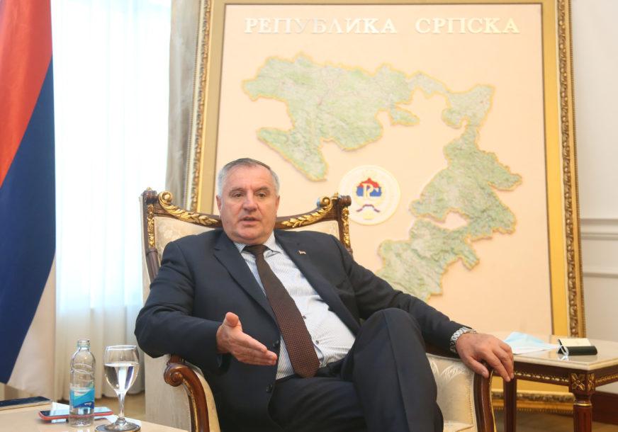 """VIŠKOVIĆ PORUČUJE """"Budžet za 2021. godinu biće budžet štednje institucija Srpske"""""""