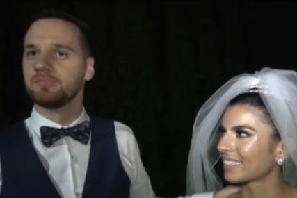 SVADBA O KOJOJ SVI PRIČAJU Vjenčali su se u Čikagu, a porodica je veselje gledala iz dnevne sobe u Valjevu (FOTO)