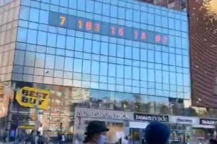 UPOZORENJE NA KLIMATSKE PROMJENE Počeo da otkucava sat koji pokazuje koliko vremena ima za spas planete (VIDEO)