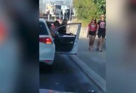SNIMAK IZ HRVATSKE ZAPALIO INTERNET Zgodne djevojke izašle iz auta, pa  nasred puta ŠOKIRALE PRISUTNE