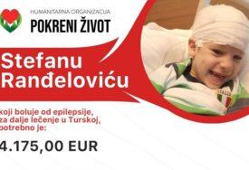 """""""I ljekari puste suzu jer su NEMOĆNI"""" Mali Stefan (4) treba pomoć dobrih ljudi kako bi skupio novac za liječenje"""