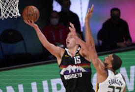 JOKIĆ ZA POBJEDU Srpski košarkaš odveo Denver u polufinale