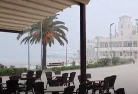 NEVRIJEME HARA EVROPOM Poplave u Crnoj Gori, u Hrvatskoj grad i pijavice, Rumuniju očekuju udari vjetra (FOTO/VIDEO)