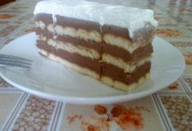 NEODOLJIVA KOMBINACIJA Torta sa keksom i nes kafom TAKO JE DOBRA